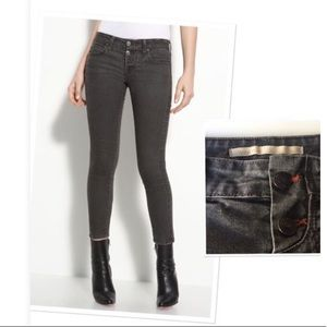 Vince Luce Crop Skinny Jeans Button Fly Size 26